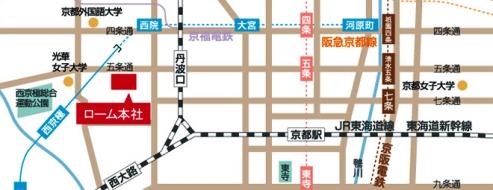 ローム イルミネーション⑤ 地図