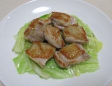 鶏もも肉の甘酢ねぎソース 調理⑤