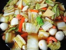 海鮮炒麺 調理⑤