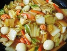海鮮炒麺 調理⑥