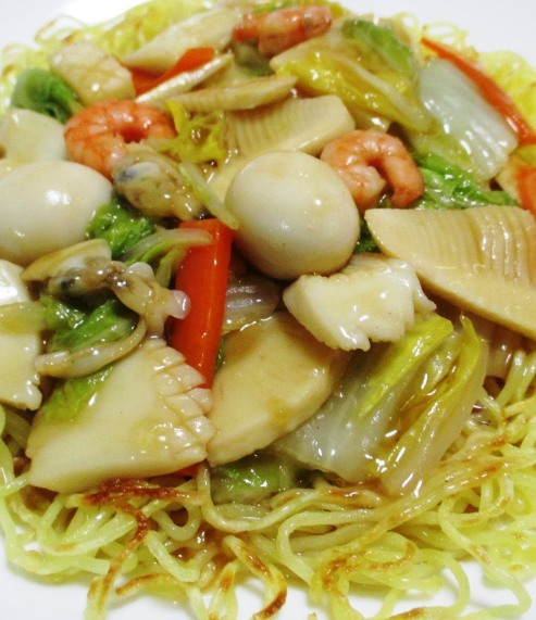 海鮮炒麺 B