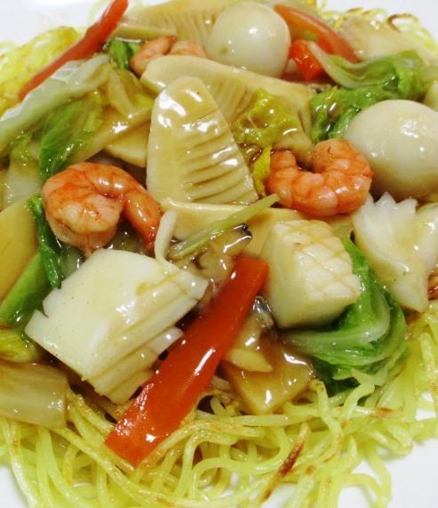 海鮮炒麺 大
