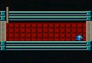 """『ロックマン』で""""ボスの部屋の前にある前室""""みたいなは何のためにあるの?"""