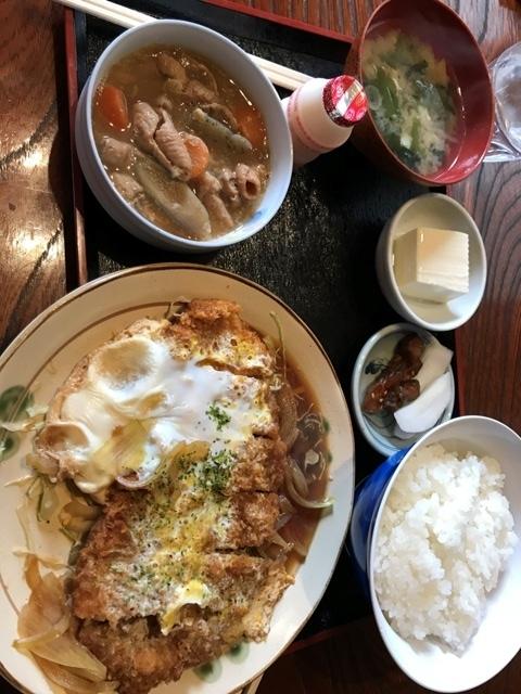 カツ煮定食29.11.26