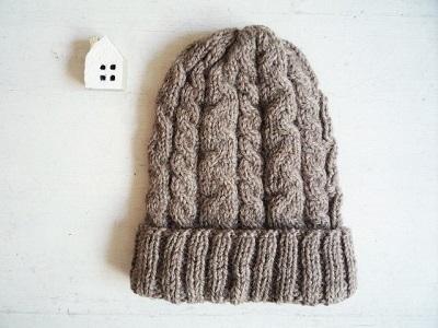 ニット帽モカ