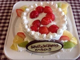 2歳のアレルギーケーキ