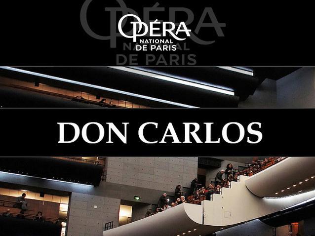Don Carlos パリに来たドリームチーム🎵