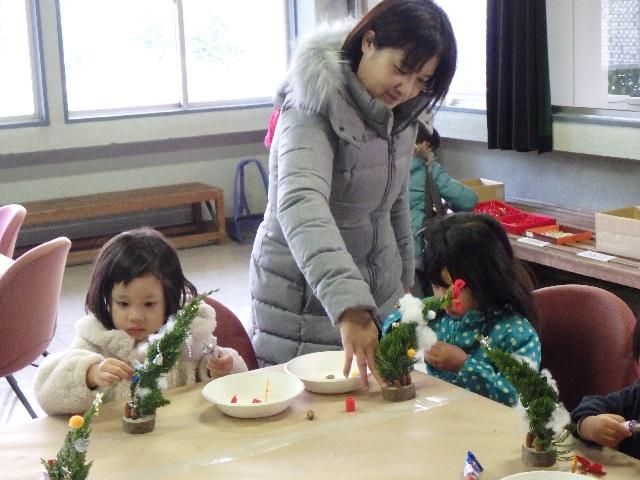 クリスマスイベント『ミニツリー作り』 2