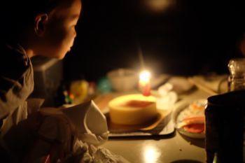 圭悟2歳ケーキ
