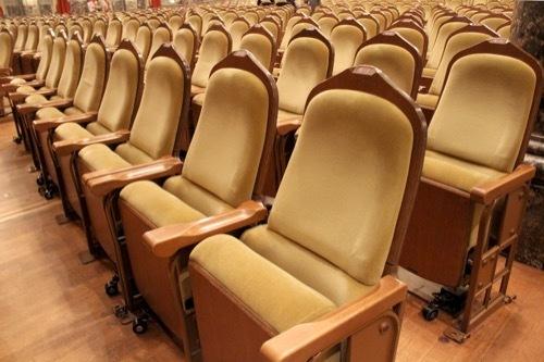 0001:大阪中之島公会堂 大集会室の椅子