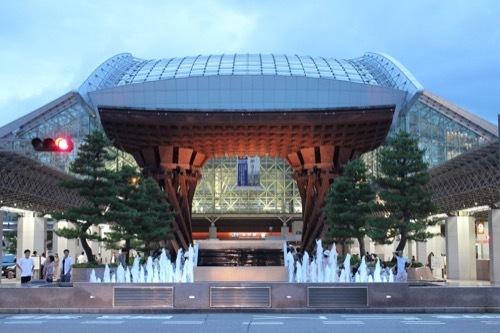 0272:金沢駅東広場 鼓門②