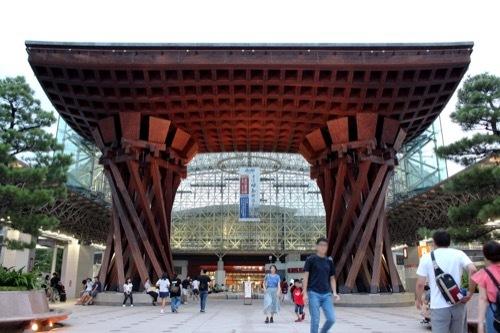 0272:金沢駅東広場 鼓門③