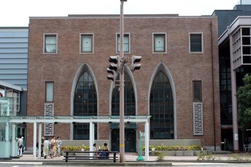 0273:北國銀行武蔵ヶ辻支店 国道の反対側から