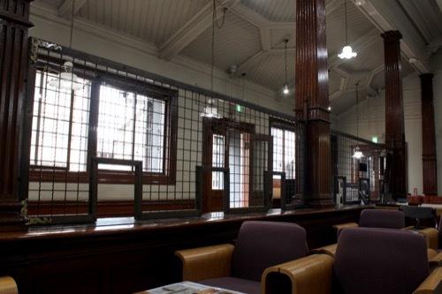 0274:尾張町町民文化館 カウンター裏