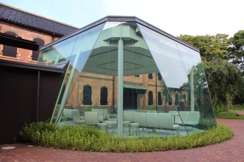 0280:石川県立歴史博物館 ガラス張りサロン