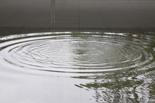 0281:鈴木大拙館 水鏡の庭の張出部から③