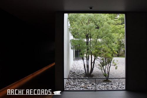 0281:鈴木大拙館 内部廊下②