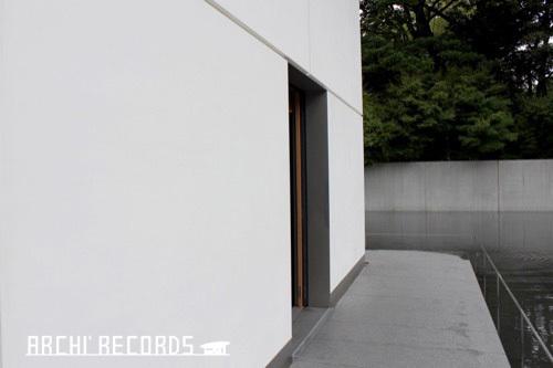0281:鈴木大拙館 思索空間棟入口