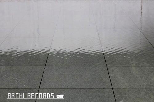 0281:鈴木大拙館 思索空間棟から庭をみる②