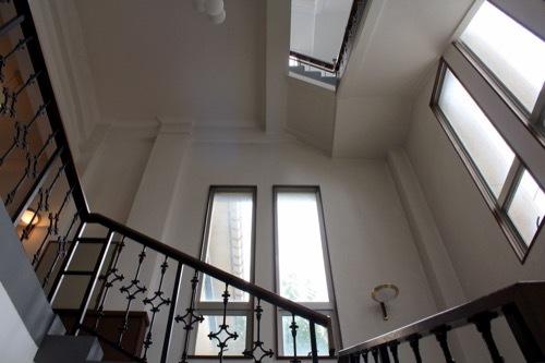 0282:武生公会堂記念館 塔屋の階段