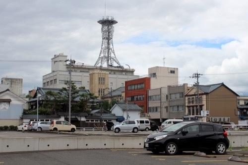 0282:武生公会堂記念館 奥に公会堂塔屋が見える
