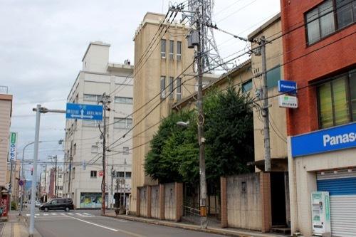 0282:武生公会堂記念館 道路北方面から