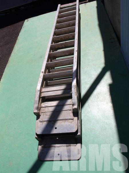 アルミラダー アルミ溶接修理