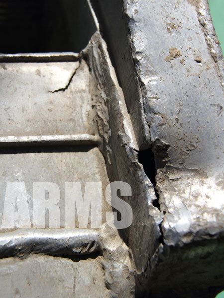 アルミ製スロープ 溶接修理