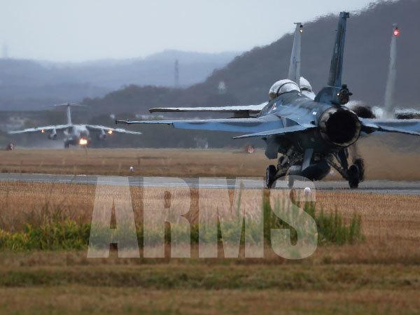F-15とF-2戦闘機 岐阜