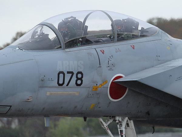 F-15のパイロット