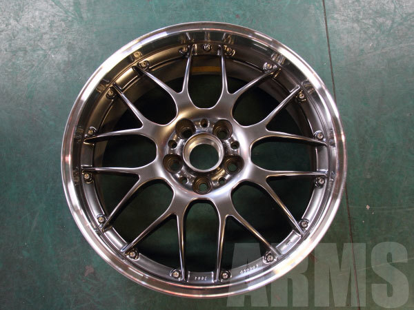 BBS RS-GT リムの修理