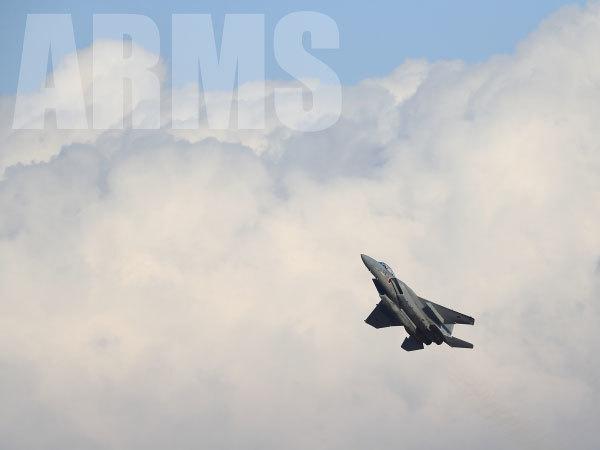 F-15 イーグル 岐阜基地 予行訓練