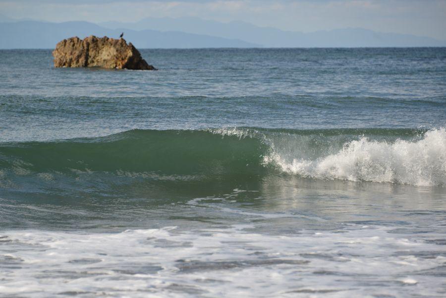 晴れていた海岸-2