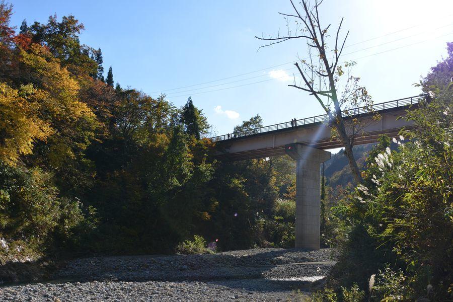 大谷川橋の下