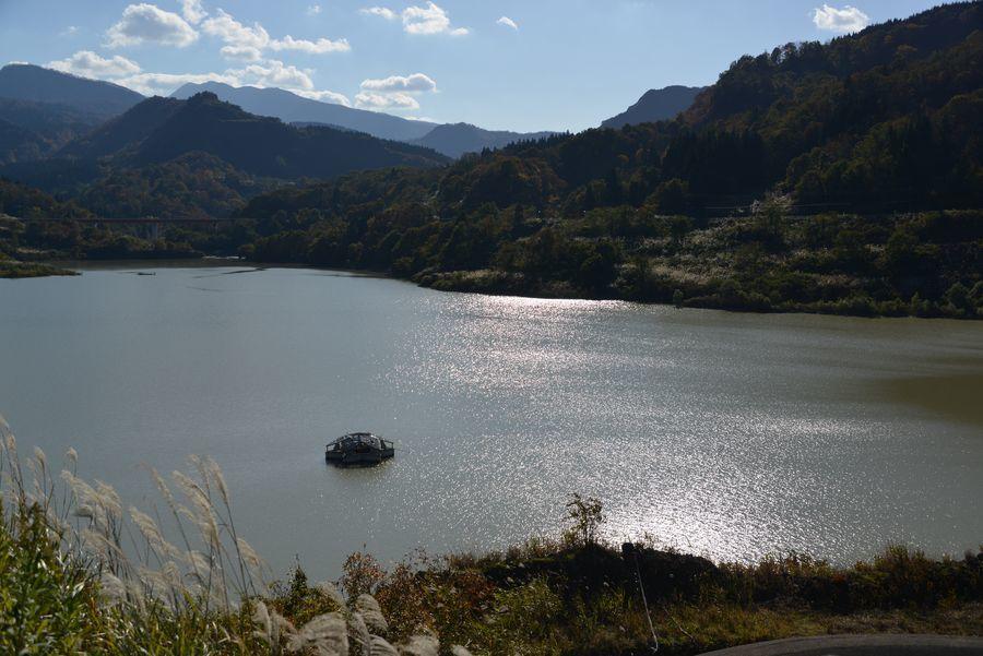 大谷ダム湖-1