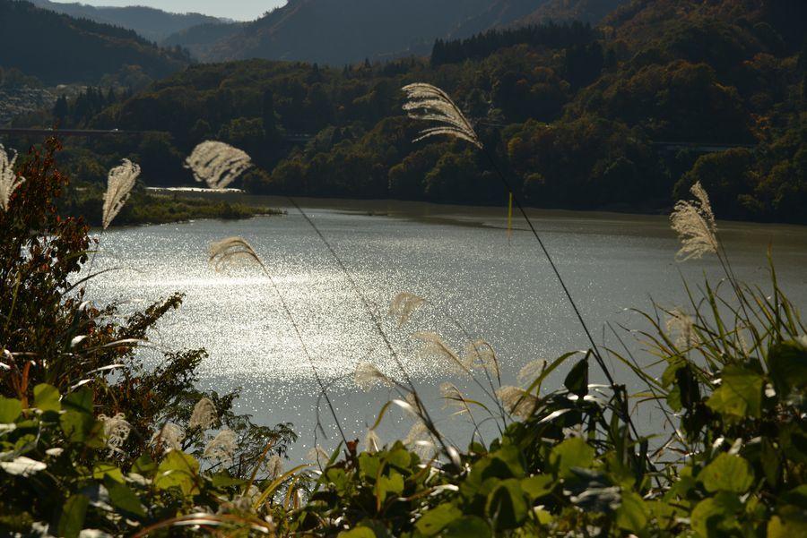 大谷ダム湖-2