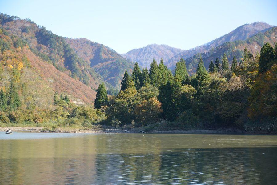 大谷ダム湖-5