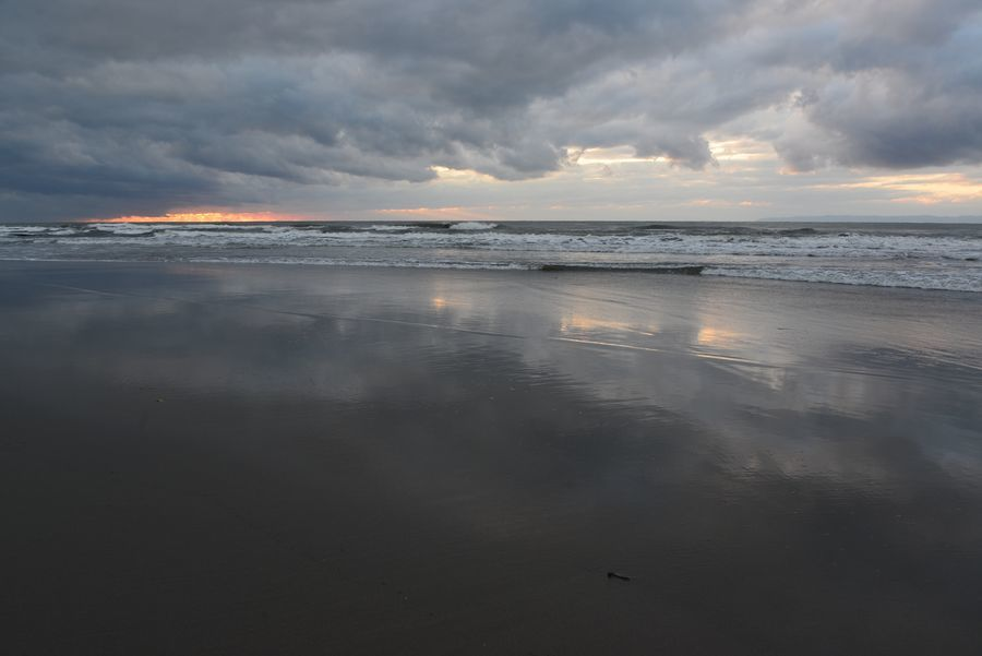 夕陽の無い海-1