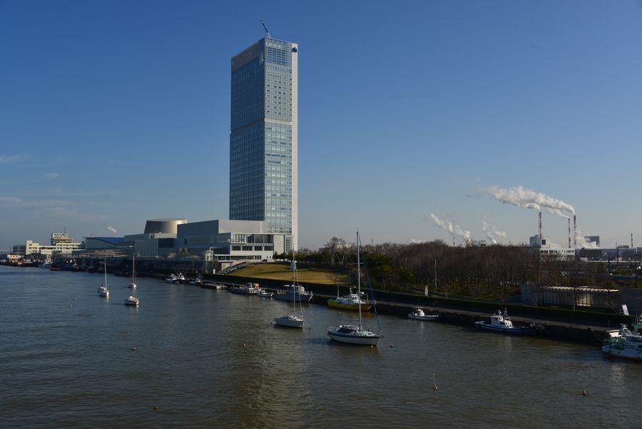 信濃川河口-1