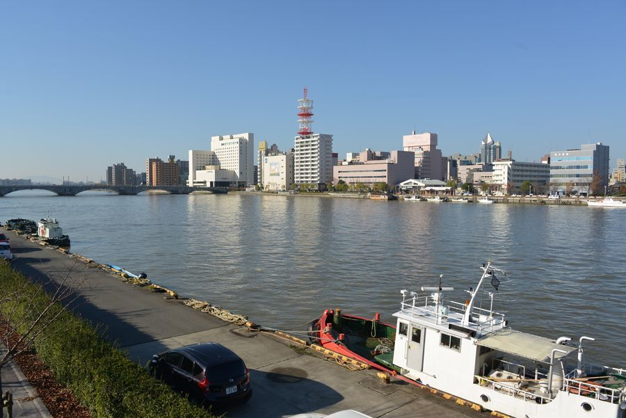 信濃川河口-8