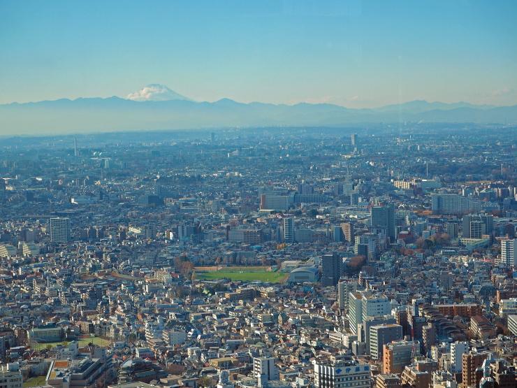 富士山方向