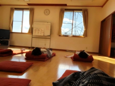 福島県郡山市近郊で本当に効く整体をお探しなら_なちゅゆる会にて足もみセルフケア教室&こんにゃく湿布体験会⑤