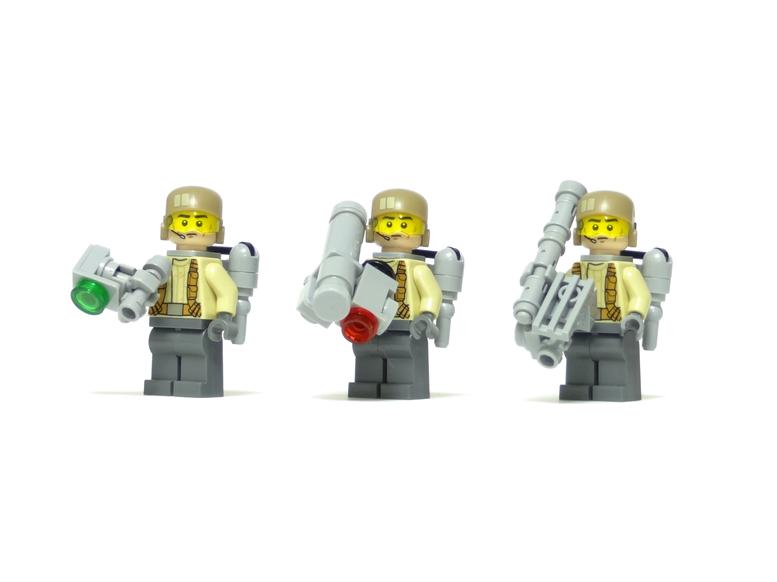 レゴ 特技通信兵