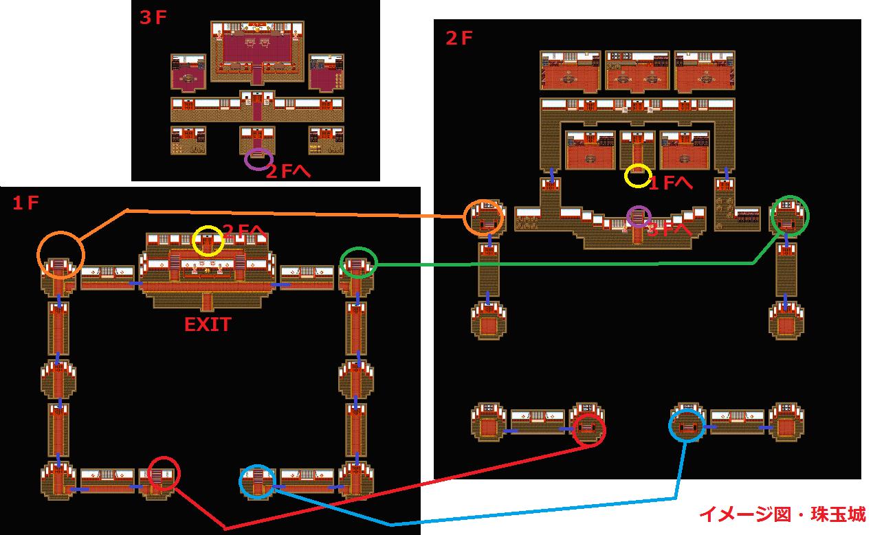 イメージ図・珠玉城