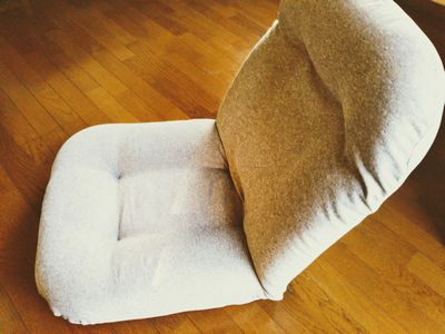 ニトリの座椅子 しっかり包み込む高反発バケット座椅子(ミットレバー) 2