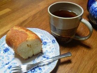 171110レモンケーキと紅茶