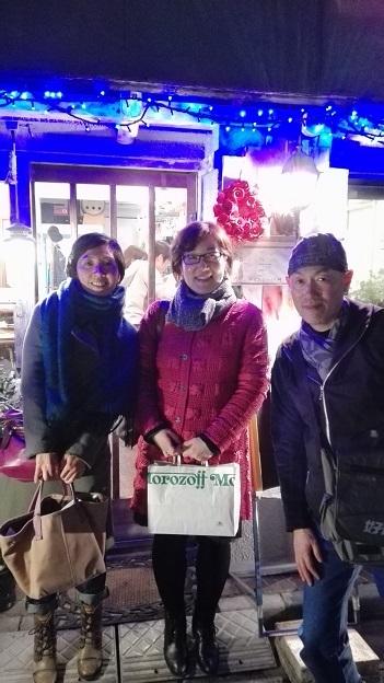171125美果さん唐さんと晩御飯 IMG_20171125_205828