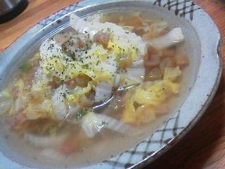 171201赤カブの茎ハートちゃんスープ