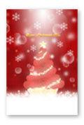 バラのクリスマスツリー