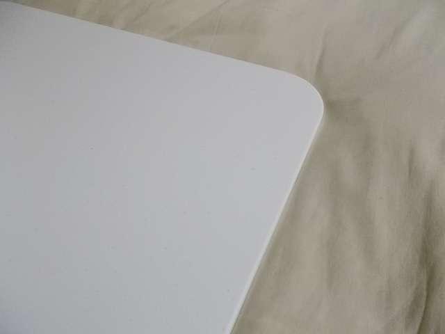 まーぶるめん台 L サイズ(78.5cm x 50.5cm 厚さ 1cm) バニラ 角の丸みが大き目 R70 程度